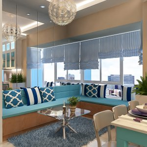 SKY GARDEN APARTMENT INTERIOR DESIGN